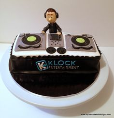 DJ Cake! - Kyrsten's Sweet Designs | Specialty Cakes and Cookie Favors