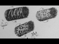Pen & Ink Drawing Tutorial   How to create realistic animal fur textures
