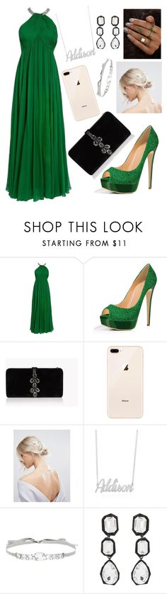 """88"" by andreea-narcisa-obreja on Polyvore featuring Dsquared2, ASOS, Jenny Packham and AMBUSH"