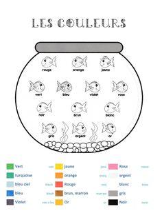 """Les couleurs - mots traduits en anglais + """"english phonetic"""" des couleurs"""