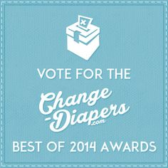 LOVE the Bummis Dimple Diaper?  Vote for it as best new diaper of 2014!  @Changediapers Best #clothdiapers of 2014 awards voting