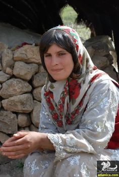 Lur Girl from the Luristan Province, Iran.