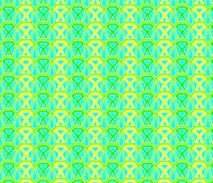 Lemon Sorbet Sticks fabric by urbanthropologie on Spoonflower - custom fabric