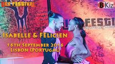 Isabelle & Felicien  Kizomba Partnerwork al Like Festival Lisbon 2016