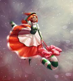 Christmas elf by Mar-ka