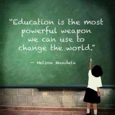Education is key!