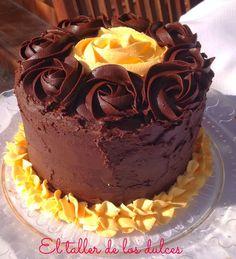 Layer Cake naranja y chocolate intenso