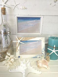 Seaブルー&ビーチのフォトフレーム by Shells Love Sea ♡ 家具・生活雑貨 インテリア雑貨