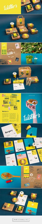 Walter's bistro packaging by Petr Kudlacek