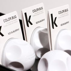 White COLOR.BUG.. Make your blonde hair platinum with this direct pigment temporary color