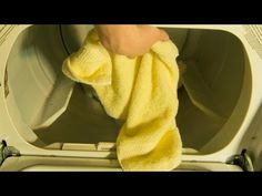 You might have heard this simple tip before: Place a dry fluffy towel into the dryer with your wet clothes. The towel supposedly absorbs the moisture, but take it out in 15-20 minutes!