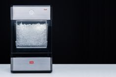 The Opal Nugget Ice Maker is a countertop device that produces nugget ice at a cool rate of a pound an hour! Nugget Ice Maker, Consumerism, Crown Jewels, Countertops, Opal, Cool Stuff, Vanity Tops, Royal Crown Jewels, Opals