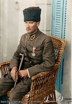 Mustafa Kemal Atatürk - what Turkey needs now! Turkish Military, Turkish Army, Republic Of Turkey, The Republic, Historical Quotes, Historical Pictures, Turkish War Of Independence, Ottoman Turks, The Legend Of Heroes