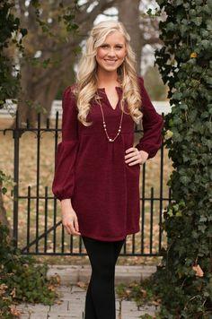 Winter Wonderland Dress Burgundy SUPER DEAL!!! - The Pink Lily Boutique