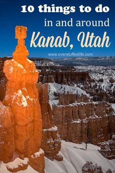Southern Utah travel
