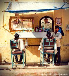 White Plate: Delhi, India: Street Life
