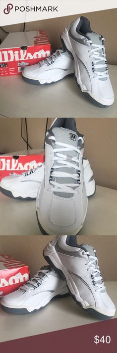 Men's Wilson Tennis Shoes  Brand new in box Wilson Shoes Athletic Shoes