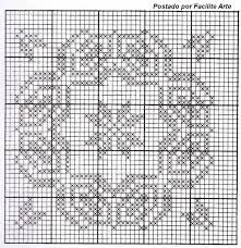 Résultats de recherche d'images pour « desenhos crochê filé »
