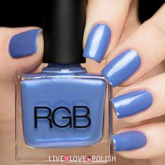 RGB Cerulean Nail Polish (Core Collection)