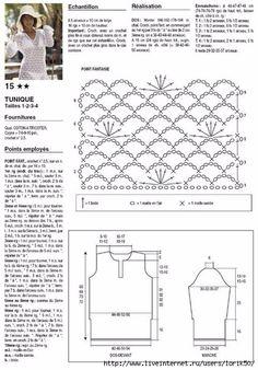 Crochetemoda: Crochet Túnica