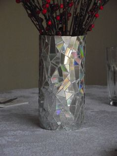 This up-cycling project demonstrates how to take your old CDs and turn them into a very classy and elegant-looking product! It mimics the look of objects covered in little pieces of mirror and is e…