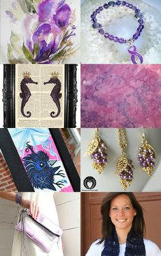 Violets For Her by Angie Bisset on Etsy--Pinned with TreasuryPin.com