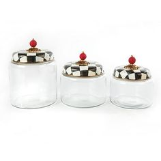 Courtly Check Kitchen Canister - Small All 3 sizes!