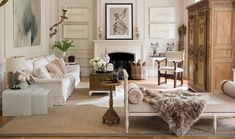 House Beautiful: A European Style Stunner - This home is one of my all time favorites, so I'm sharing it again. It's the New Orleans home designer Tara Shaw. Inside the house, Tara has set a tone tha My Living Room, Home And Living, Living Room Decor, Living Spaces, Living Area, Nova Orleans, New Orleans Homes, Luxury Furniture, Furniture Design
