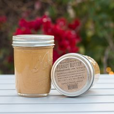 "The ""Original"" spread that started it all, on the Big Island of Hawaii where Aloha Spreads was born. Many people are surprised to hear that our Coconut Peanut B Coconut Peanut Butter, Almond Butter, Shelf Life, Spreads, Smoothies, Toast, Snacks, Free Shipping, Fruit"