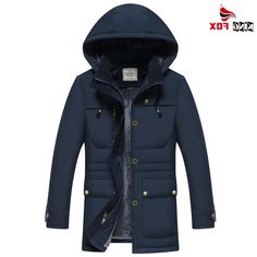 37.98$  Buy here - https://alitems.com/g/1e8d114494b01f4c715516525dc3e8/?i=5&ulp=https%3A%2F%2Fwww.aliexpress.com%2Fitem%2FHot-Sale-MID-Long-warm-Winter-Men-brand-Clothing-Outwear-Casual-Jacket-And-coats-fleece-Cotton%2F32772260713.html - Hot Sale MID-Long warm Winter Men brand Clothing Outwear Casual Jacket And coats fleece Cotton down Parka Male size M~4XL 37.98$