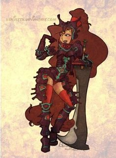 Disney Personages getekend in Final Fantasy Style | Female-Gamers