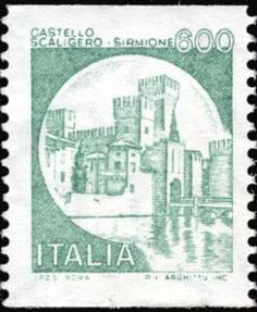 Castello scaligero, a Sirmione Php, France, Postage Stamps, Retro Vintage, Nostalgia, The Past, World, Life, Collections