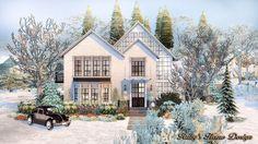 Sims4 Neutral Chic House 低彩度現代鄉村宅 - Ruby's Home Design