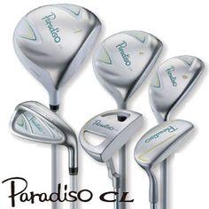 ブリヂストンゴルフ2015モデルパラディーゾCLレディースハーフ7本セット(1W、4W、U5、7I、9I、SW、パター)PCFB7C