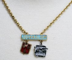 """leviticus jewelry """"journalism"""" necklace"""