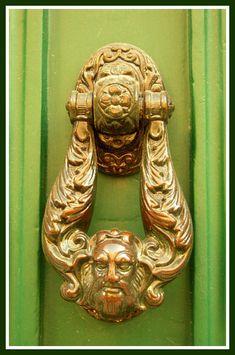 Door knocker Door Knockers, Door Handles, Mirror, Artist, Design, Home Decor, Door Knobs, Interior Design, Design Comics