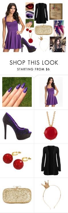 """""""Disney Villains Modernized: Evil Queen"""" by kiara-fleming ❤ liked on Polyvore featuring Oneness, Jessica Simpson, Les Néréides, Deanna Hamro, WearAll, INC International Concepts and modern"""