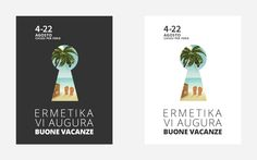 Mail Marketing per Ermetika per le vacanze estive (varianti)