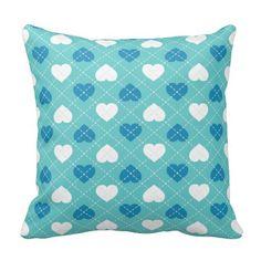 Argyle Baby Blue and White Heart Pattern Throw Pillows #heartwarestore  => http://www.zazzle.com/argyle_baby_blue_and_white_heart_pattern_pillow-189475294144540498?rf=238590879371532555&tc=pinHPargylebabyblueandwhitepillow