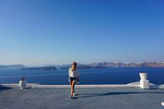 Girls In Santorini on KatCaprice.com. A few of my favorite pics with my best friend Emma x