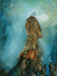 "Donna Holdsworth Contemporary Art  ""Prayer Shawl"""