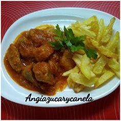 Angi azucar y canela: Carne con Tomate en olla GM