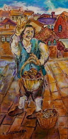Tsuga Fine Art - Renate Dollinger - The Pretzel Boy
