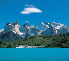 Explora Hotel Patagonia - Hotel Salto Chico Is located at the center of the Torres del Paine National Park, the heart of Patagonia, on the shores of Lake Pehoé Places Around The World, Oh The Places You'll Go, Travel Around The World, Places To Travel, Places To Visit, Travel Destinations, Holiday Destinations, In Patagonia, Patagonia Hotel