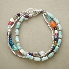 Triple Decker Bracelet In Summer Jewelry 2013 From Sundance On  Shop.CatalogSpree.com,