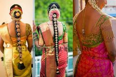Real Brides in Thread Work Blouses