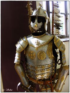 Other Polish hussar armor, photo taken by me ;)