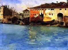 The Marinarezza, Venice / John Singer Sargent - circa 1880-1881
