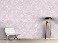 Design #Tapete Sanfte Schmetterlingsspitze