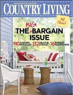Country Home & Country Living Magazine <3